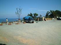 オート の 雲見 と 場 キャンプ 夕陽 潮騒 岬